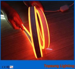 110V double side orange led neon flexible light with new design