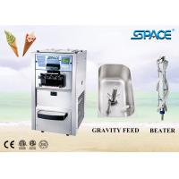 Commercial Bench Top Mini Soft Serve Ice Cream Machine Air Cooling for sale