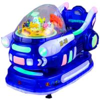 Wholesale Game Center Electronic Kiddie Ride Machines Automatically Stops from china suppliers
