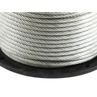Flexible Stranded Core Cable , Nylon Coated Stainless Steel Wire Fatigue - Resistant for sale