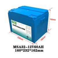 Wholesale Lithium Polymer 60Ah 12v Lithium Ion Battery Pack 2000 Times Cycle Life from china suppliers
