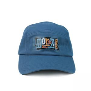 Wholesale Twill 5 Panel Camper Hat With Screen Printed Nylon Webbing from china suppliers