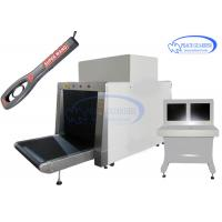 Quality 100*80 Cm L-Shape Generator X Ray Luggage Scanner With Free Handheld Metal for sale