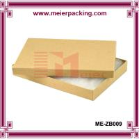 Cotton Filled Kraft Color Jewelry Gift and Retail Paper Boxes ME-ZB009 for sale