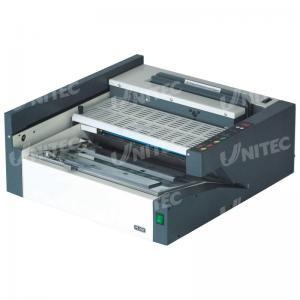 China 38Mm Hot Melt Glue Electric Binding Machine 380Sheets 100 Books / Hour GB-6210 on sale