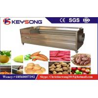 Wholesale Carrot Peeling Fruit And Vegetable Processing Machinery 380v / 50hz Steady Performance from china suppliers