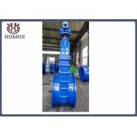 DN900 resilient seated gate valve wiith gearbox
