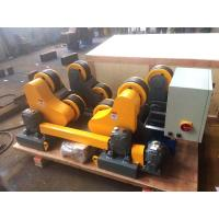 Wholesale HGZ 5 Pipe Welding Rotator With Hand Control Box , Turning Speed Digital Readout from china suppliers