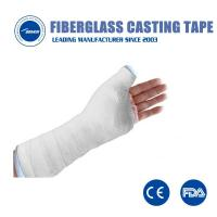 China Durable Fiberglass Casting Tape waterproof Soft Cast Bandage Medical Cast Tapes orthopedic for sale