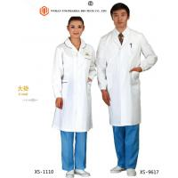 Wholesale Customised Doctors Apron Coats , Pink  Blue White Medical Apron For Doctors Non Sterilized from china suppliers