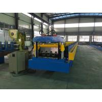 Wholesale Double Line Sheet Metal Roll Forming Machines , Floor Deck Metal Stud Roll Forming Machine from china suppliers