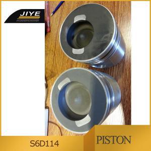 Buy cheap komatsu pc300-7 SAA6D114E-2 piston 6743-31-2110 liner 6742-01-5159 piston ring from wholesalers