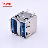 China Height 14.2mm Double Female Usb Connector With Charge / Data Function on sale