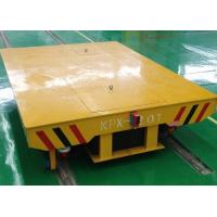 Wholesale Concrete factory floor flatbed rail car with turning system from china suppliers