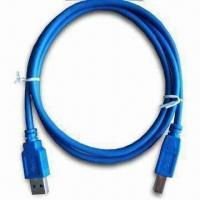 Wholesale USB3.0 A Type Male to B Type Male Cable with 4.8Gbps Transfer Rate, RoHS, REACH Marks from china suppliers