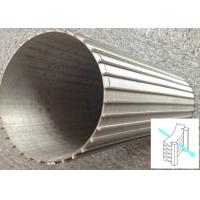 Rods Stainless Steel Wedge Wire Filter Outside Lengthways With Flow Inside Out