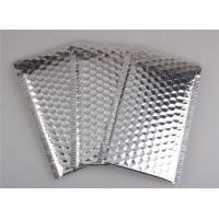 Wholesale Aluminum Foil Metallic Bubble Mailers Silver Color Self Sealing For Postal Packaging from china suppliers
