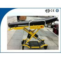China High-Strength Ambulance Stretcher Aluminum Alloy Foldable for Patients Rescue on sale