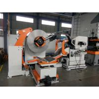 China 1300 Mm Width 3 In 1 Medium Coil Feeder Machine Cooperated With Punching on sale