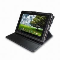 Wholesale Folio Leather Case for Asus EEE Pad, Can Remove and Rotate 360 Degrees, Available in Unique Designs from china suppliers