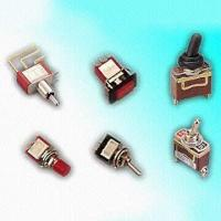 China Standard Toggle Switches with SPDT Switch Configuration on sale