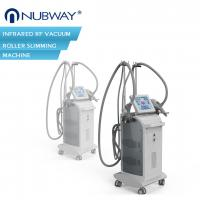China Fast effective!!!body shaping  vacuum rf slimming machine infrared RF Vacuum roller machine for sale