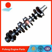 Wholesale DOOSAN DAEWOO excavator crankshaft supplier D1146 Crankshaft forged steel from china suppliers