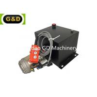 Wholesale Single Acting Trailer Hydraulic Power Unit Used to Activate Trailer Tipping Rams of Multi Stage from china suppliers