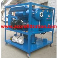 Wholesale Mobile Trailer Vacuum Transformer Oil Purification Dehydration Machine from china suppliers
