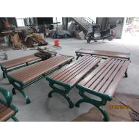 Wholesale Wooden Garden Table Bench Seats , Outdoor Garden Benches Wooden from china suppliers