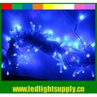 Strong PVC 100 bulbs 12v led string lighting warm white for outdoor for sale