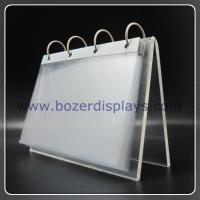 Wholesale Holder-Office Acrylic Calendar Holder for Display from china suppliers