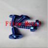 Buy cheap Colorful Bike Grade 5 Torx socket Titanium Self Tapping screws ST4X12mm from wholesalers
