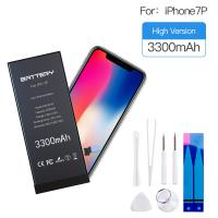 China Zero Cycle Iphone 7 Plus Battery 3300mAh High Capacity Li ion Rechargeable Battery on sale