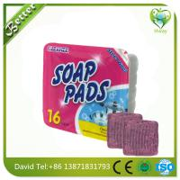 Wholesale steel wool soap pad to clean dirt in bowls and pots from china suppliers