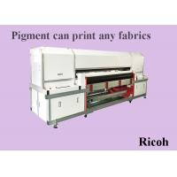 Buy cheap High Speed Pigment Inkjet Printers With Ricoh Head 1200 Dpi Water Based Ink from wholesalers