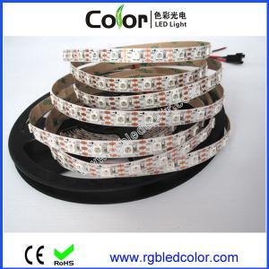 China DC5V 60led 60pixel/m apa104 individually addressable led strip on sale