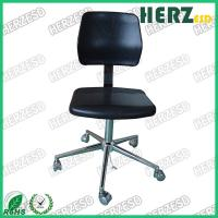 Wholesale Durable Large Back Anti Static Chair , Ergonomic ESD Chairs Black Color from china suppliers