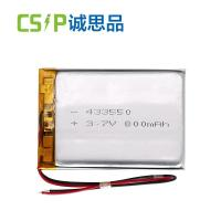 China High Power Lithium Polymer Battery Pack 433550 800mah 3.7v KC Certification on sale