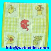 Wholesale 100% Cotton Terry Face Towels For Children from china suppliers