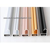 Wholesale Metal Modern Type Aluminium Picture Frame Mouldings With Narrow Curved Shape from china suppliers
