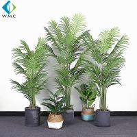 China Palm Bamboo Fake Bonsai Tree For Room Garden Building Landscaping R020005 for sale