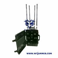 China High Power Draw Bar Box 6-8 Channels Mobile Signal Jmmer 300W Exspcially for Drone  Jammer on sale