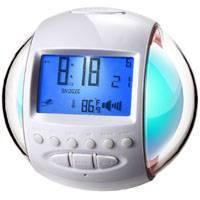 China 7 color chang clock with radio and calendar HW-201 on sale