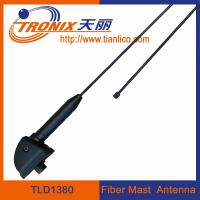 Wholesale 1 section black fiber mast car antenna/ am fm radio car antenna TLD1380 from china suppliers