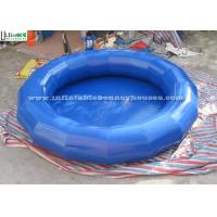Wholesale Portable Mini Round Inflatable Water Pools Made Of 650g/m2 PVC Tarpaulin from china suppliers