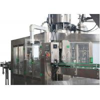 Wholesale 3 In 1 Glass Bottle / Bottled Hot Drink Beverage Tea Juice Filling Machine / Equipment / Plant / Unit / System / Line from china suppliers