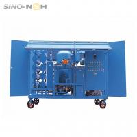 Wholesale High Efficiency Transformer Oil Purifier For Electric Equipment Remove Impurities from china suppliers