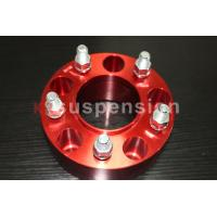 Forged / Silver CNC Machining Universal Wheel Spacers Aluminum Double Drilled for sale