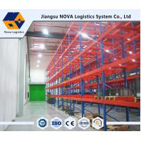 Wholesale High Strength Heavy Duty Pallet Racking Adjustable Layer Height Custom Size from china suppliers
